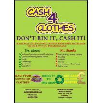 Cash4Clothes - skup ozieży w Anglii